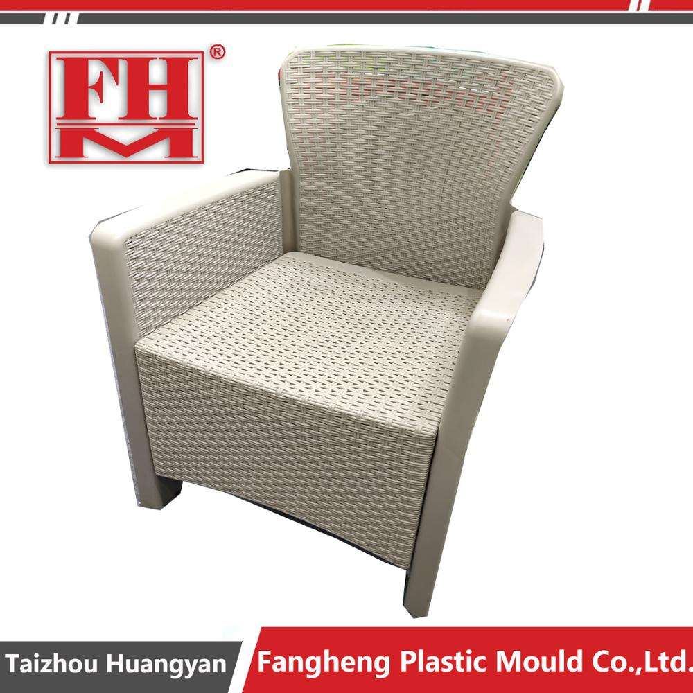 Taizhougarden canapé moules fournisseur rotin canapé mouliste en plastique rotin canapé chaise moule fabricant