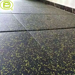 reduce shock gym rubber flooring and floor rubber mat for fitness