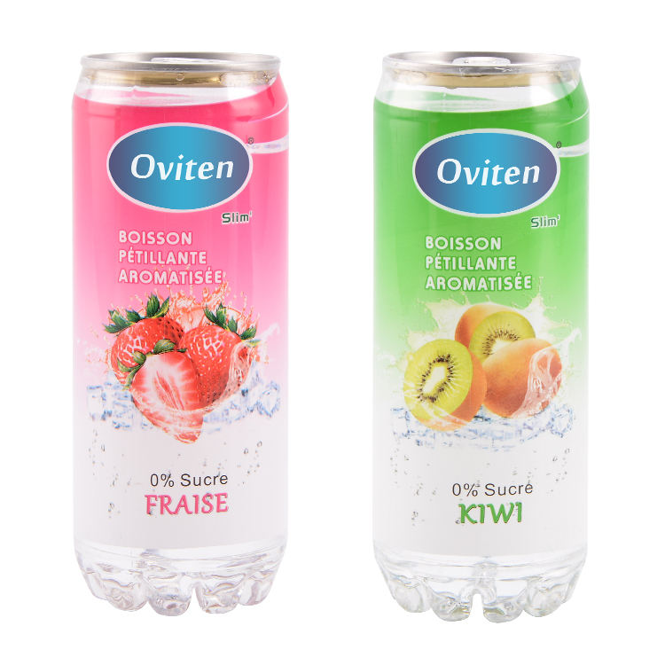 Yeni ürü<span class=keywords><strong>n</strong></span> ince şişelenmiş meyve aromalı karbonatlı su