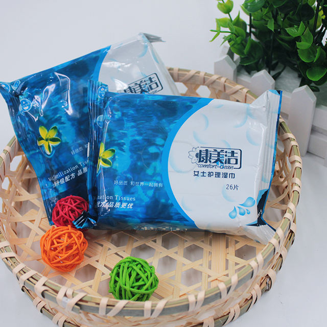 OEM/ODM Customized Feminine Personal Hygiene Cleaning Wet Wipe Private Label Natural Feminine Wipes