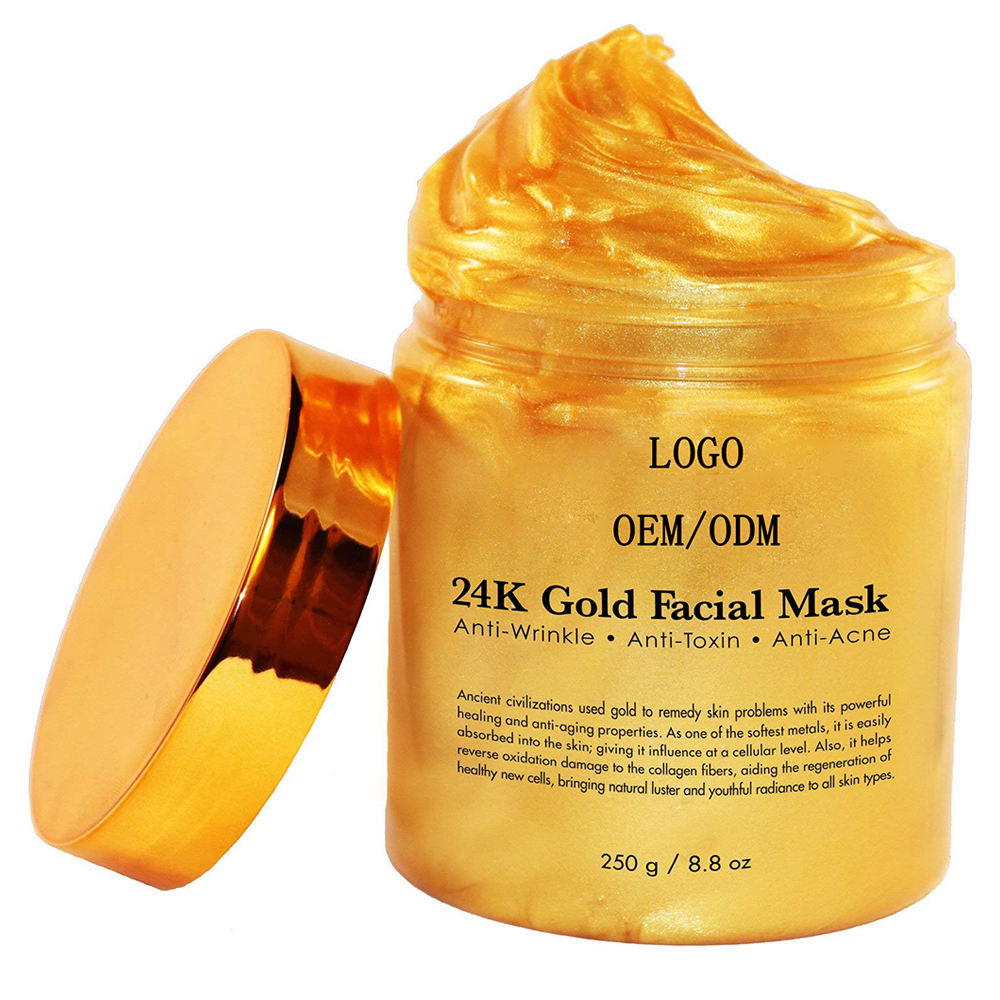 Beauty Korean Skin Care Gold Collagen Moisturizing Peel Off Facial Gold Mask for Women