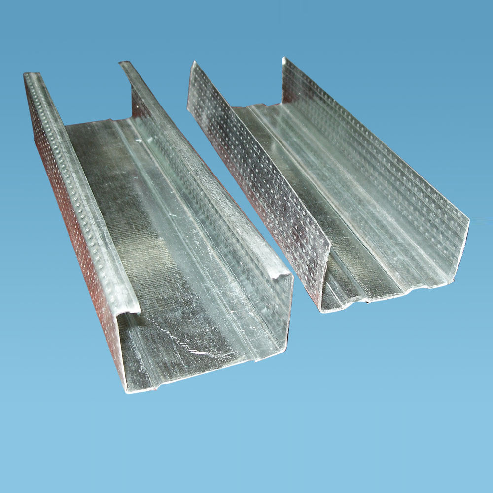zinc stud for partition,c channel metal stud sizes framing in modern wall construction cleanroom,kitchen,office