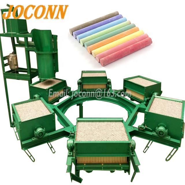 High Speed 6 Mold 800 Cost of Blackboard Automatic School Chalk Making Machine Price