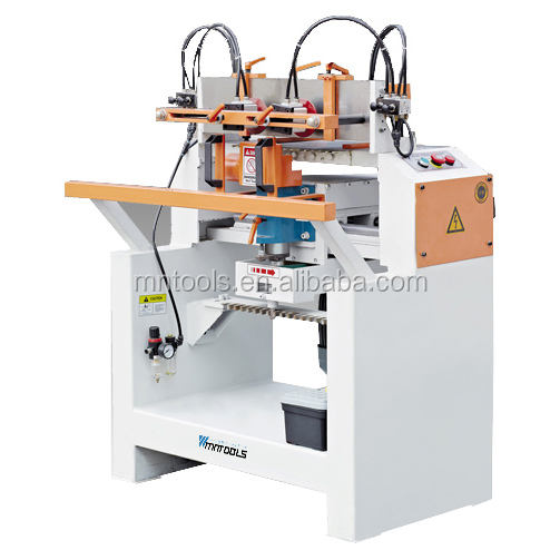 Manual single head tenoning and dovetail machine