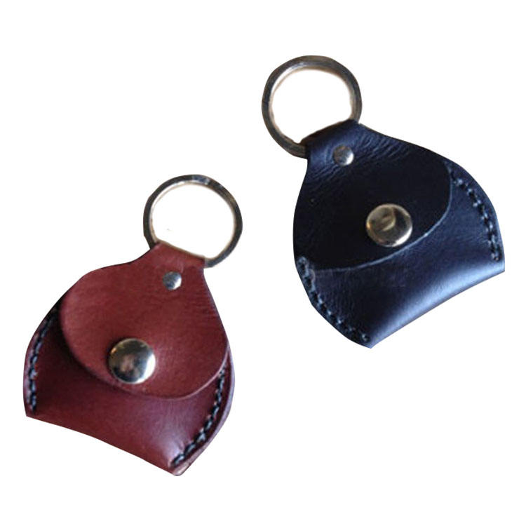 Fashion Key Ring Leather Coin Pouch, Wholesale Leather Coin Bag with Key Ring for Easy Carrier