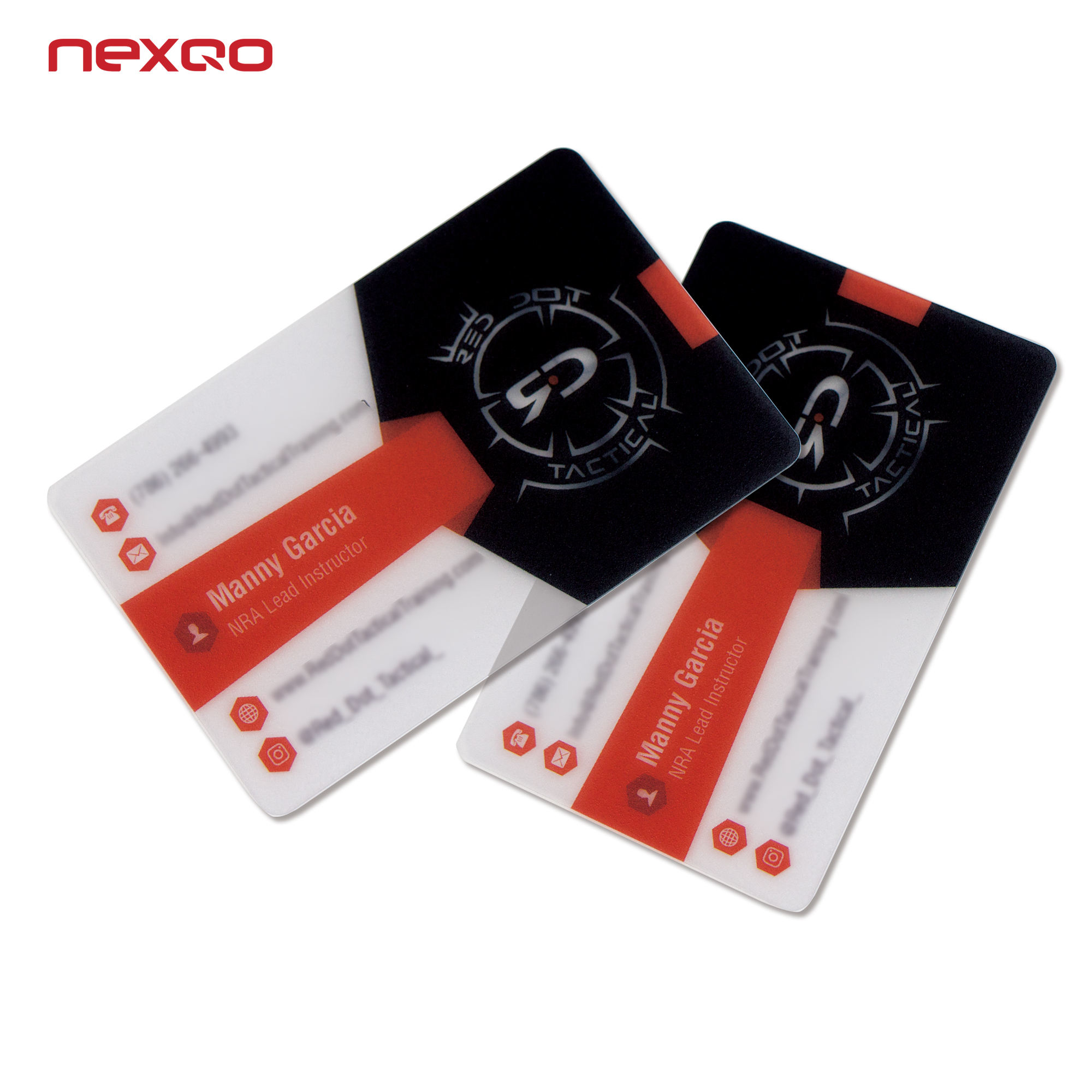 Business [ Pvc Cards ] Plastic Pvc Card Cheap Professional Clear Transparent PVC Plastic Business Cards With Chip