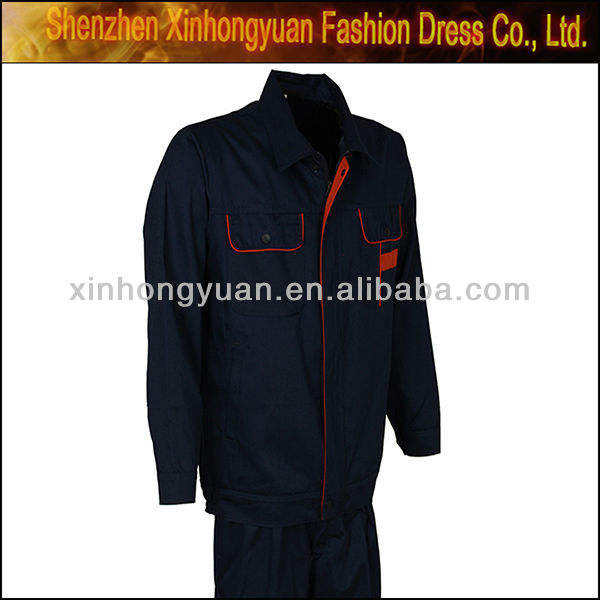 Long sleeve workwear used uniforms