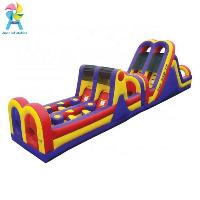 Customized inflatable obstacle course