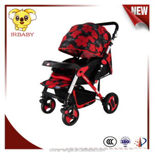 Deluxe new item brand good germany doll baby pram 3 in 1