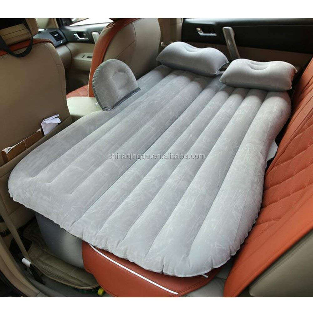 Car Travel Inflatable Mattress with Pillow Car Mobile Cushion Air Bed Mattress Bed for Sleep Rest