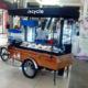 CE approved electric coffee bicycle/coffee bike for sale