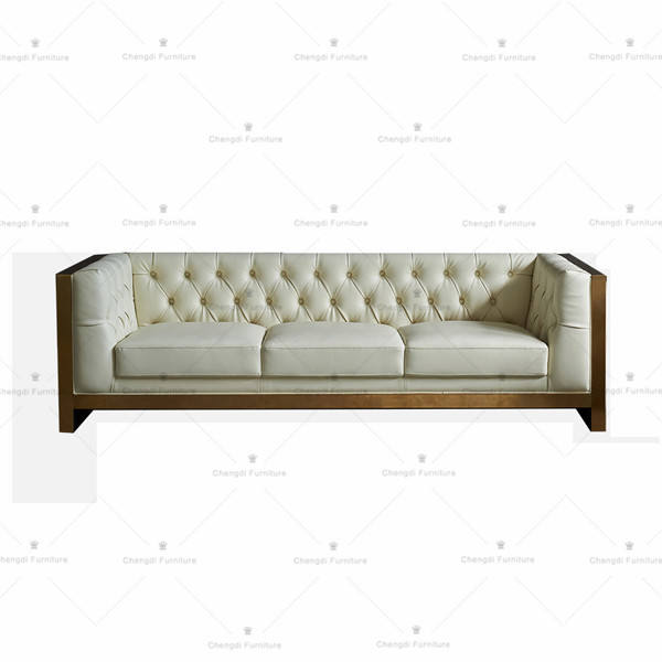genuine leather couch living room sofa lounge