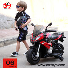 Original RASTAR Licensed Baby Ride on Car 12V Motorcycle Electric Dirt Bike with Training Wheel