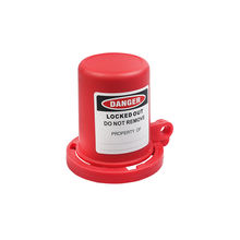 Brady Durable Safe Lock Device Red Gate valve lockout