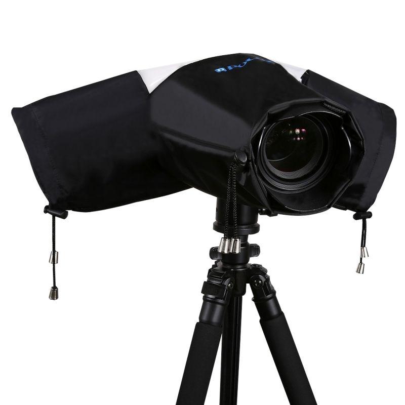Impermeable a Prueba De Lluvia Cubierta Caso Bolsa Para Canon 5D4 A7R A6300 cámaras SLR DSLR /&