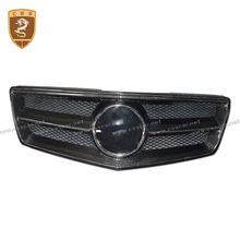 GLK carbon main grill high quality carbon bumper grills for bens glk