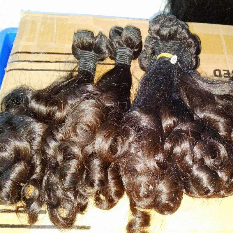 New products funmi hair bouncy curl Virgin Cambodian Asian Human Hair Multi tips Nigeria Supplier