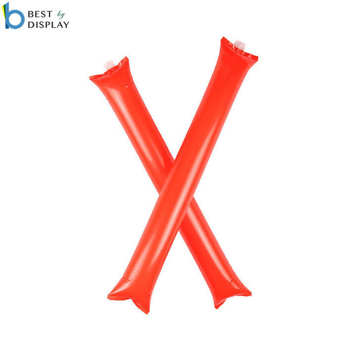 Customized events inflatable balloon stick clappers noise cheering sticks