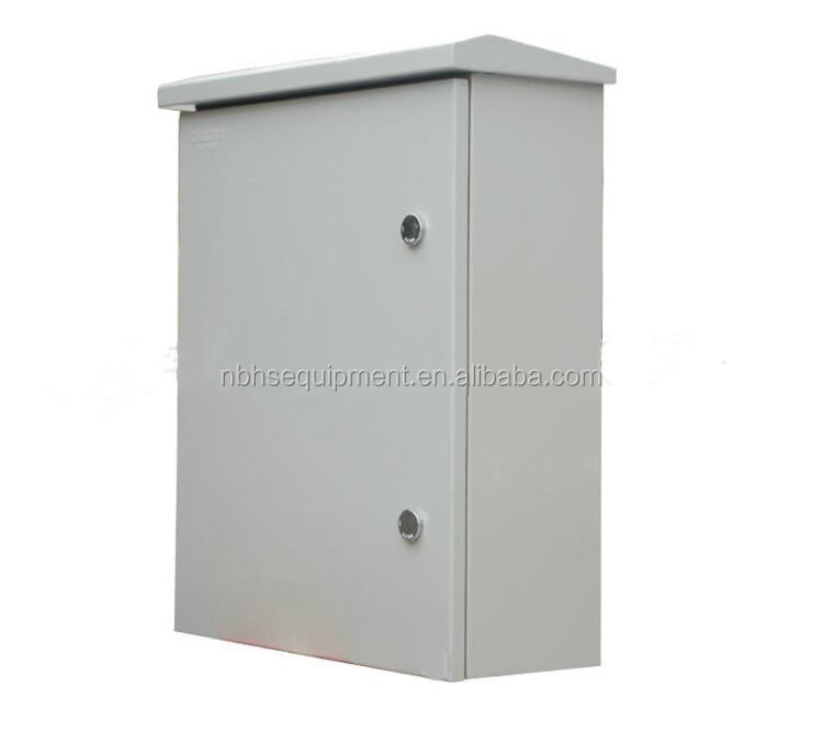 Wall mounted waterproof outdoor electrical cabinet
