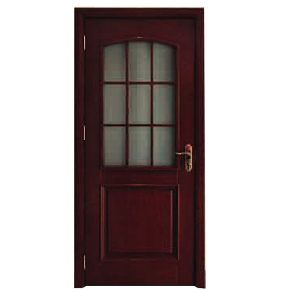 wooden double door designs for wooden window door models with frosted tempered glass