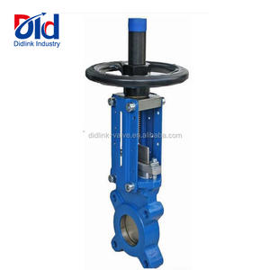 Leaking 0 12 Inch V Plug Rising 4 Ball 2 Controller Din Wafer Butterfly Knife Gate Valve Distributor