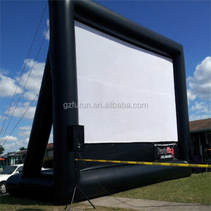 Luar Ruangan Inflatable Layar Outdoor Advertising Inflatable Komersial Layar Bioskop Inflatables Iklan Layar Film