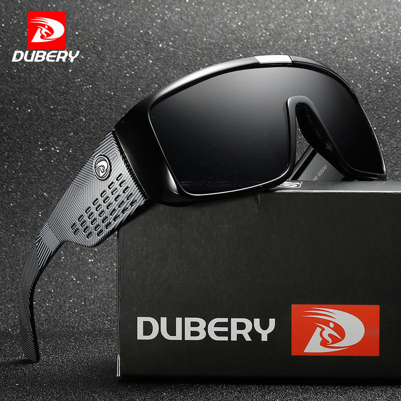 Dubery D2030 Big Frame Bicycle Sunglasses Sports Sunglasses Glasses for Men