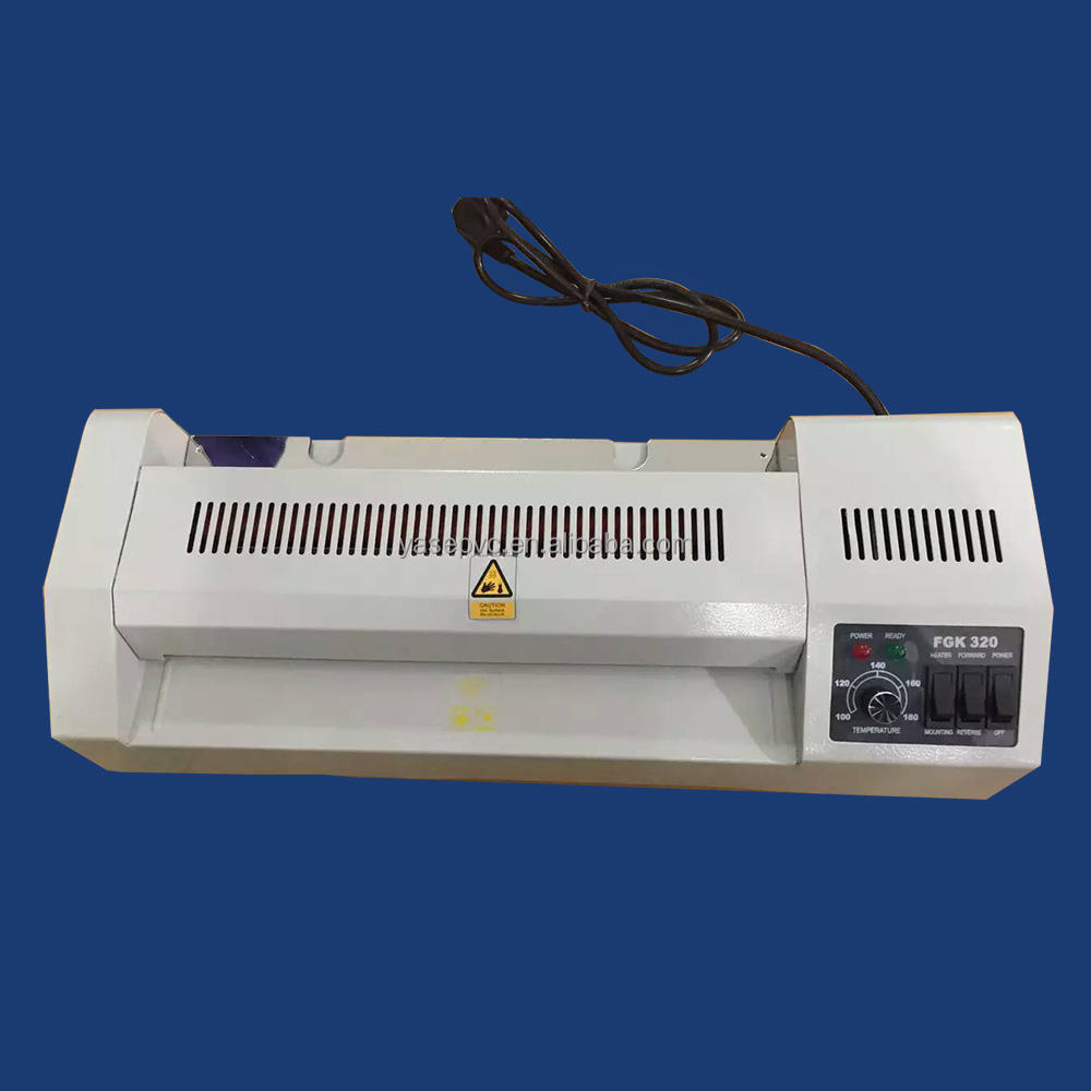 YASE 320 pouch laminator for a3 size Desktop Hot Pouch Film special promotion price laminator