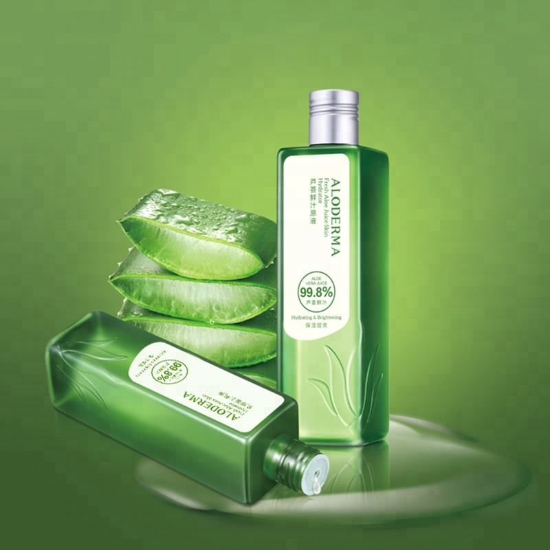 Astringent green tea skin care hydrating soothing moisturizing face toner