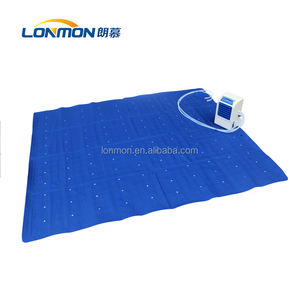 Water bed cooling mattress cooler than environment water cooled mattress pad