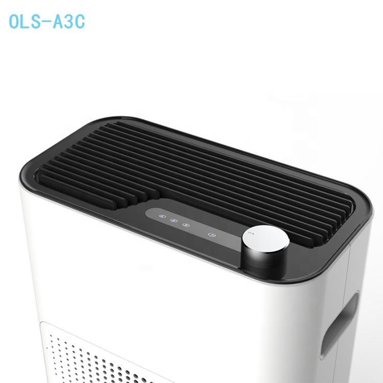 Office Home Use Pm2.5 Smoke 13H Hepa Filter Air Purifier Odor Sensor Ionizer Home Air Purifiers