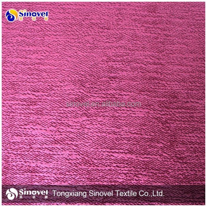 100% polyester burn out koltuk kumaş süper yumuşak <span class=keywords><strong>velboa</strong></span> döşemelik