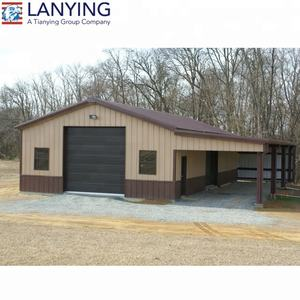 prefab steel structure galvanized steel appliance steel carport garage