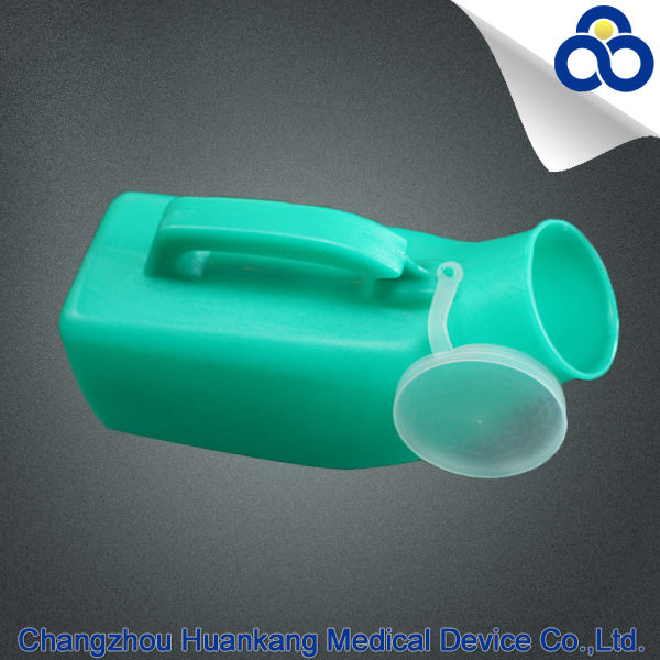 Hot sales hospital equipment urine bottle for female