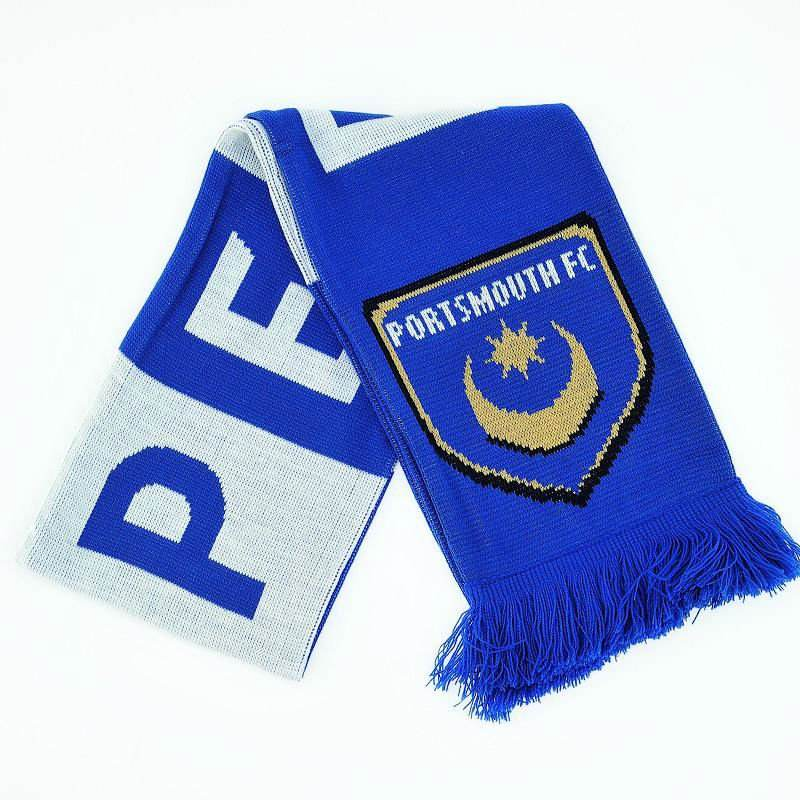 Portsmouth FC Winter Warmers Hat /& Scarf Set