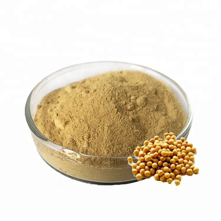 100% Natural Organic Pure Soybean Extract Soy Isoflavones Powder For Skin