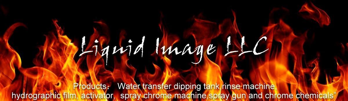 "Hydrographics Film Orange Flames 39/"" x 39/"""
