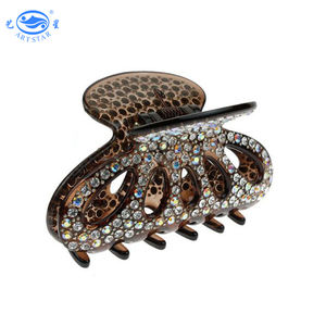 Women Sparkly Lovely Fashion rhinestone decoration elegant lady hair claw