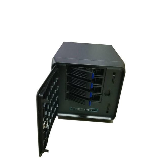 Vendita calda 4 bay mini itx Casi NAS Storage Case con Hot Swap NUOVO