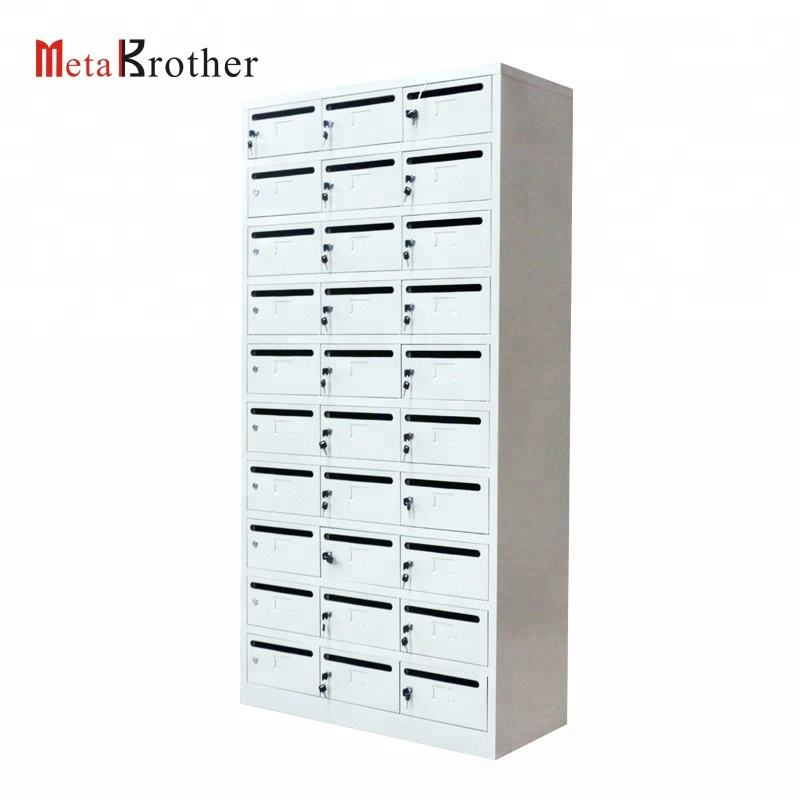 China Leverancier Moderne Staal Mailbox Brief Post Box