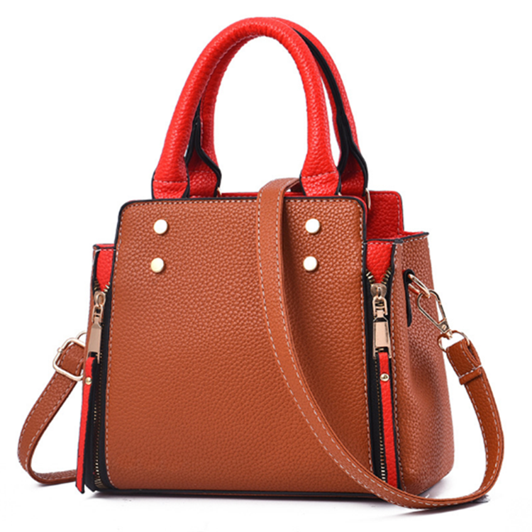 Hot Selling Fashion Ladies Shoulder Bag Women Pu/pvc handbags