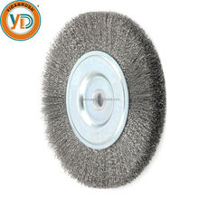 polishing stainless steel wire brush wheels