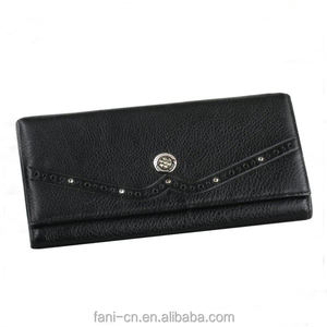 Vintage Pu Leather Wallet Long Wallet Women's Wallet