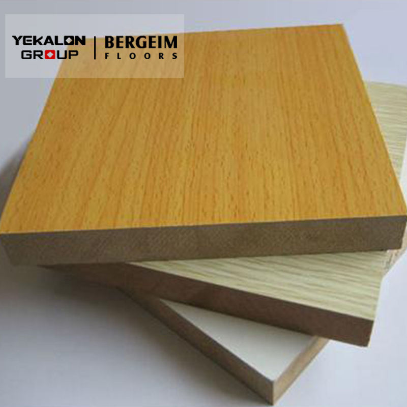 Wholesale custom furniture quality decoratives waterproof high gloss sheet sublimation melamine faced mdf board prices
