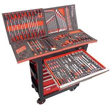 Professional Tool Box 6/7 Drawer Trolley/Roller Cabinet With 278 pcs Hand Tools