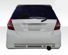REAR BUMPER FOR HONDA FIT FOR JAZZ 2008 AUTO CAR TUNING PARTS FACE COVER