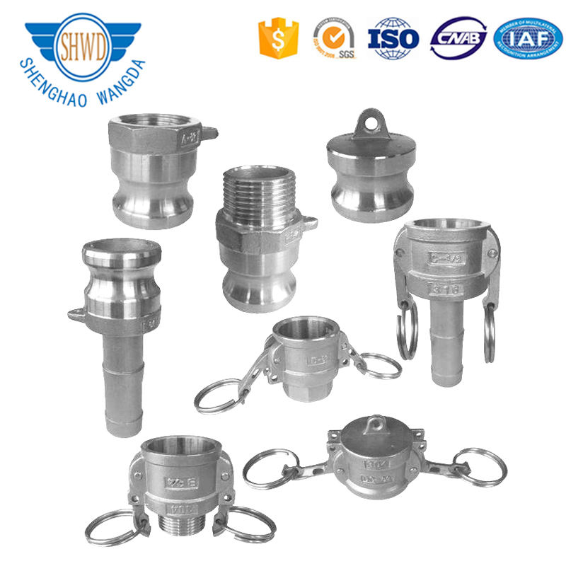 High pressure Fitting Stainless Steel/Aluminum/Al Camlock/Coupling/Coupler quick Connector Camlock Coupling