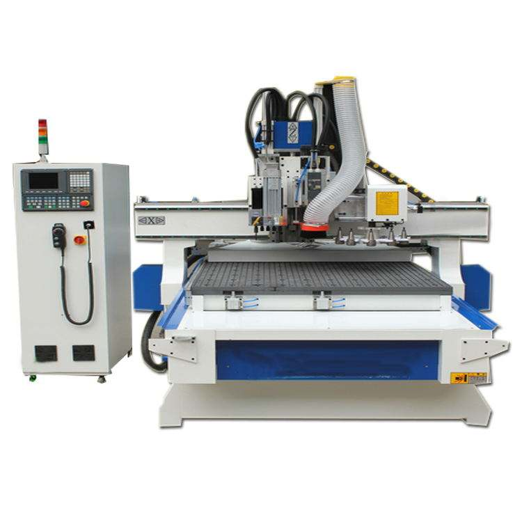 Carousel tool changer cnc router for aluminum and wood cylinder