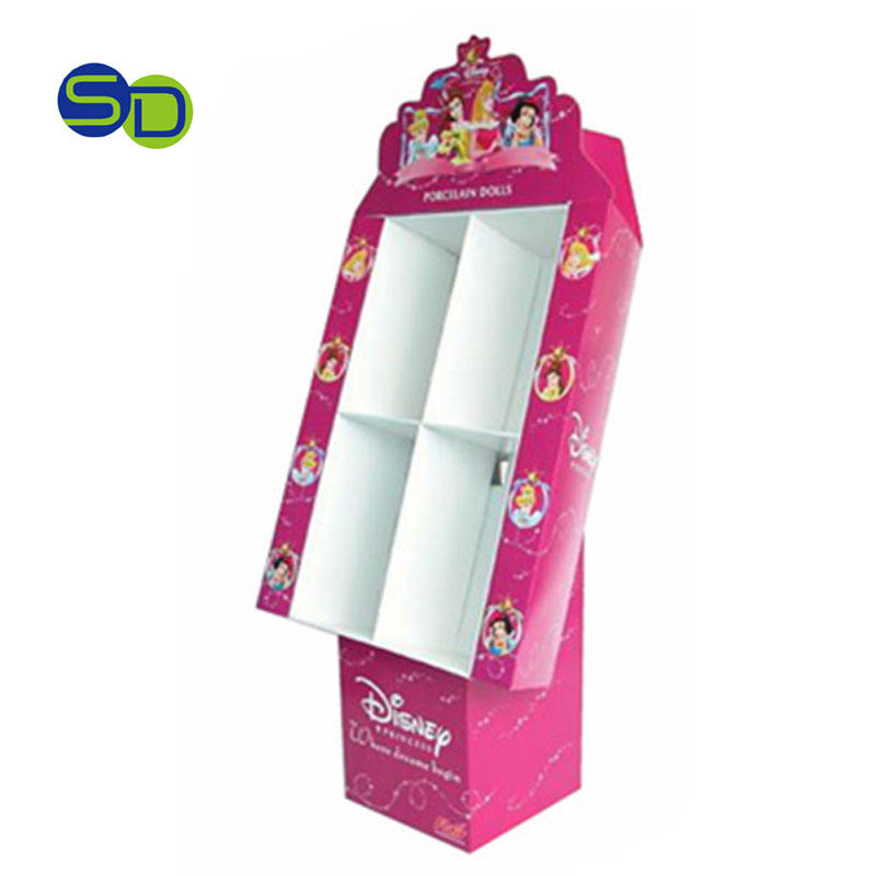 Wholesale hair bow accessories display stand, gift card pop display/cardboard greeting card display,gift bag display stand