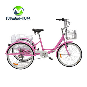 China cheap cargo bike triciclo para adultos adult 3 wheel trike rickshaw pedal tricycle for adults